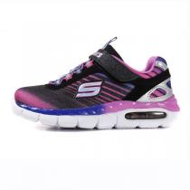 斯凯奇童鞋17新款女小大童4-13岁撞色时尚运动跑步鞋81710L