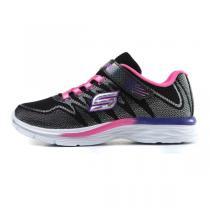 斯凯奇 童鞋 女小童4-10岁运动休闲跑步鞋