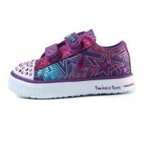 斯凱奇 童鞋 女嬰童0-4歲生活休閑休閑鞋