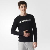 adidas阿迪达斯NEO男装卫衣新款套头衫运动服B28379