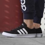 adidas阿迪达斯男鞋休闲鞋板鞋2017新款GVP帆布运动鞋AW5079