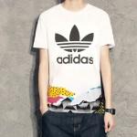 adidas阿迪達斯三葉草運動服男服短袖T恤BQ0924