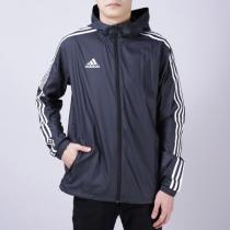 adidas阿迪达斯男子外套夹克足球训练休闲运动服DN2280
