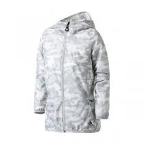 adidas阿迪達斯女子外套夾克跑步防風休閑運動服CV4879