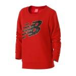 New Balance/NB女裝長袖T恤針織運動休閑套頭衫AWT81550