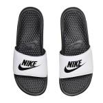 NIKE耐克男拖鞋夏款奧利奧配色輕便涼鞋沙灘鞋343880