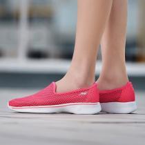 Skechers斯凱奇女健步鞋GO WALK 4輕質一腳套運動鞋14905