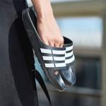 adidas阿迪達斯游泳拖鞋游泳男鞋G15890