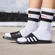 adidas阿迪达斯男子拖鞋时尚凉拖休闲运动鞋CG3540