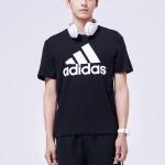 adidas阿迪达斯男子短袖T恤休闲运动服CD4864