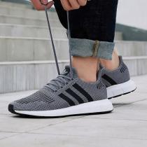 adidas阿迪达斯三叶草男子休闲鞋SWIFT RUN休闲鞋CQ2115