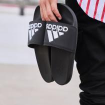 adidas阿迪達斯男子拖鞋涼拖休閑運動鞋CG3425