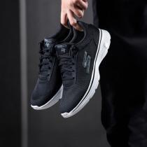Skechers斯凱奇男健步鞋GO WALK 4透氣網面運動鞋54160