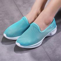 Skechers斯凱奇女健步鞋GO WALK 4網面透氣運動鞋14906