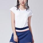 adidas阿迪達斯女子短袖T恤網球透氣休閑運動服CV6338