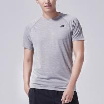 New Balance/NB男短袖T恤休闲圆领快干运动上衣AMT81095