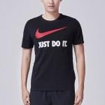 Nike-耐克 新款生活夏季短袖T恤男装运动服LOGO款707361-010 F