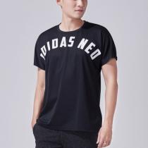 adidas阿迪達斯NEO男子短袖T恤logo休閑運動服CV6935