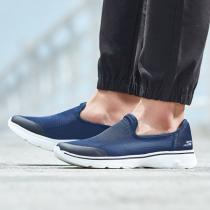 Skechers斯凱奇男鞋健步鞋GO WALK 4透氣網眼休閑鞋54159