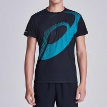 ASICS亚瑟士男子短袖T恤跑步运动服2011A134-001