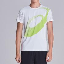ASICS亚瑟士男子短袖T恤跑步运动服2011A134-100