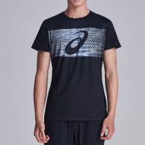 ASICS亞瑟士男子短袖T恤跑步運動服2031A604-001