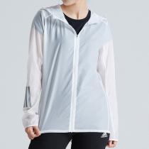 adidas阿迪達斯女子外套夾克秋季新款跑步透氣運動服DN8765