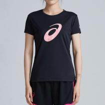 ASICS亚瑟士女子短袖T恤跑步透气休闲运动鞋2012A137-001