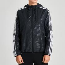 adidas阿迪達斯女子外套夾克連帽休閑運動服DM5334