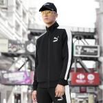 彪马PUMA运动外套男装立领开衫运动卫衣运动服57759501