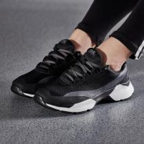 Skechers斯凯奇女鞋跑步鞋复古时尚透气网面运动鞋15490