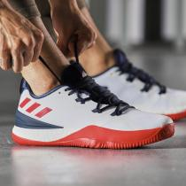 adidas阿迪达斯男子篮球鞋CRAZY LIGHT BOOST 2018运动鞋AC7431