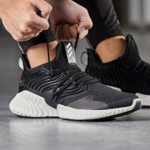 adidas阿迪达斯男子跑步鞋ALPHABOUNCE休闲运动鞋D97280
