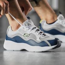 Skechers斯凱奇男鞋熊貓鞋D'lites厚底運動鞋999859