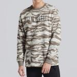PUMA運動服冬季新款男裝迷彩套頭運動長袖針織衛衣855053