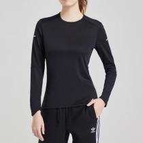 adidas阿迪达斯女子长袖T恤跑步训练运动服DM3140