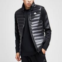 adidas阿迪达斯男子羽绒马夹保暖背心休闲运动服BS1563