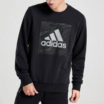 adidas男裝衛衣圓領套頭休閑運動服DT2496