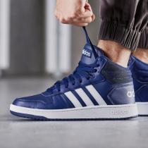 adidas男鞋板鞋篮球文化高帮休闲运动鞋B44663