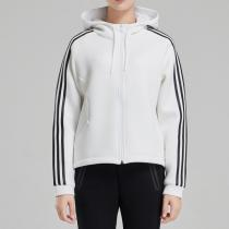 adidas阿迪达斯NEO女装外套夹克修身休闲运动服DX0042