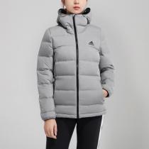 adidas女裝服羽絨服戶外保暖外套夾克休閑運動服CZ1385