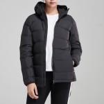 adidas女装服羽绒服户外保暖外套夹克休闲运动服BQ1935
