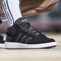 adidas男鞋板鞋網球高幫板鞋休閑運動鞋B43858