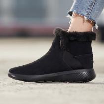 斯凯奇女鞋短靴秋冬新款轻质毛里保暖时尚雪地靴运动鞋14635