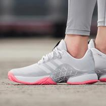 adidas女鞋网球鞋训练比赛运动鞋AH2097