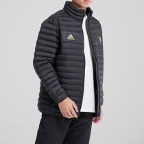 adidas男服羽绒服曼联保暖夹克休闲运动服CY6112