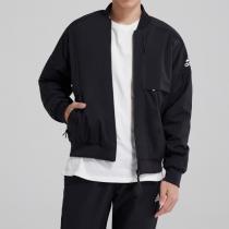 adidas男裝外套夾克飛行領休閑運動服DX7192