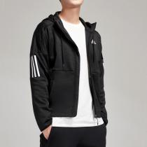 adidas男服夾克外套保暖加絨休閑運動服CK0150