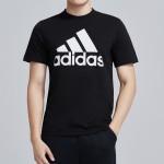 adidas男服短袖T恤圆领运动休闲运动服DT9933