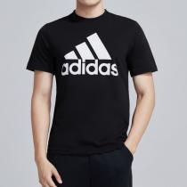 adidas男服短袖T恤圓領運動休閑運動服DT9933